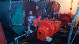 Εγκατάσταση Διβάθμιων Καυστήρων Αερίου σε Αλληλουχία