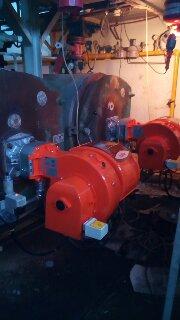 Εγκατάσταση καυστήρες αερίου Κολυμβητήριο Χαϊδαρίου