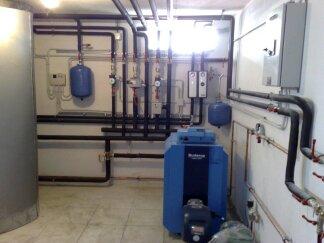 Εγκατάσταση λεβητοστασίου με αυτοματισμό Siemens - Rehau