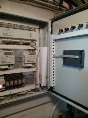 Κατασκευή πίνακα αυτοματισμού με αντισταθμίσεις Siemens